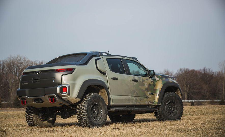 Chevrolet Colorado ZH2 Fuel Cell concept - Slide 35