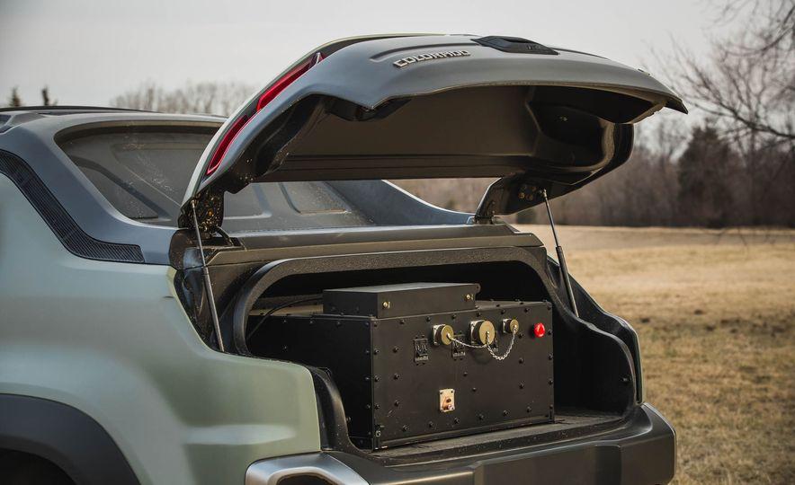 Chevrolet Colorado ZH2 Fuel Cell concept - Slide 50