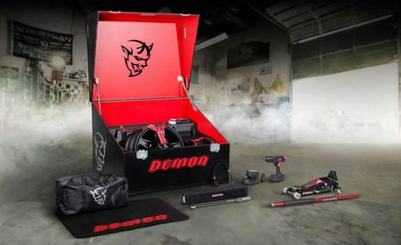 What's in the Box? The Contents of the Dodge Challenger Demon's Drag-Racing Hellcrate