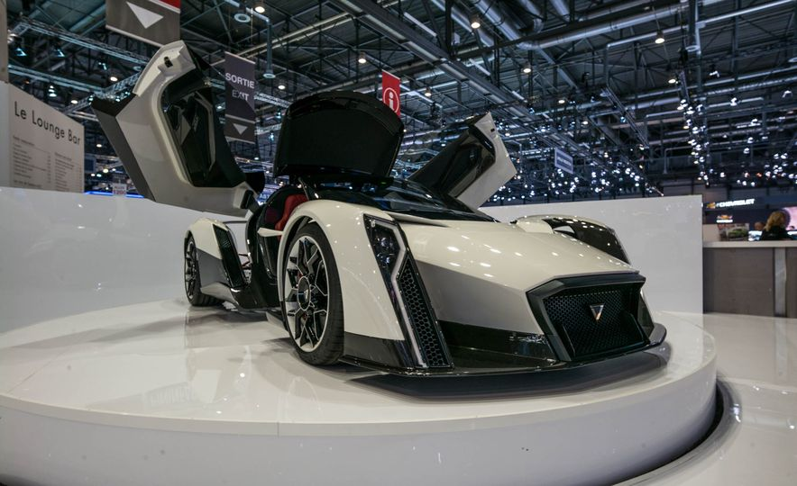 Fortress of Supertude: The Most Insane Supercars at the 2017 Geneva Auto Show - Slide 13