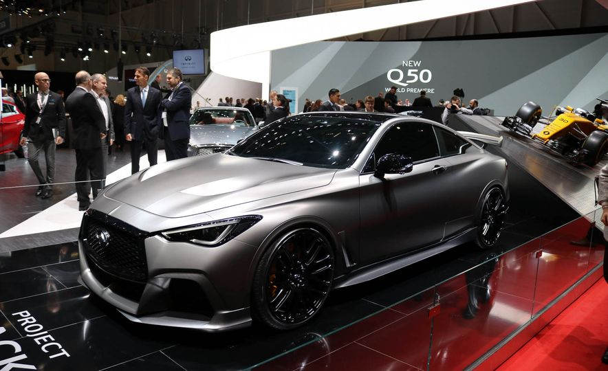 Infiniti Q60 Black S concept - Slide 3