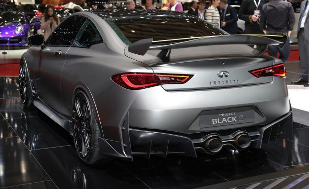 Infiniti Project Black S Prototype Is A 563 Hp Coupe With F1 Hybrid Tech