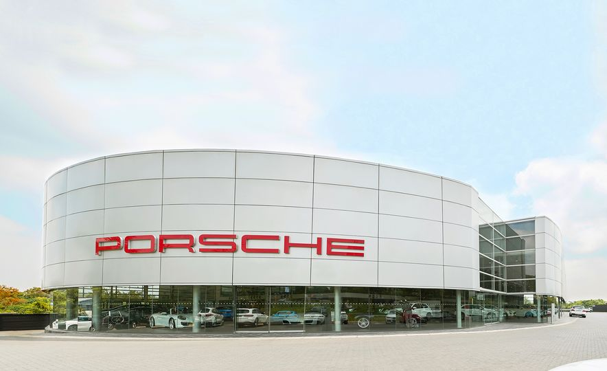 This Is the Largest Porsche Dealership in the World - Slide 1