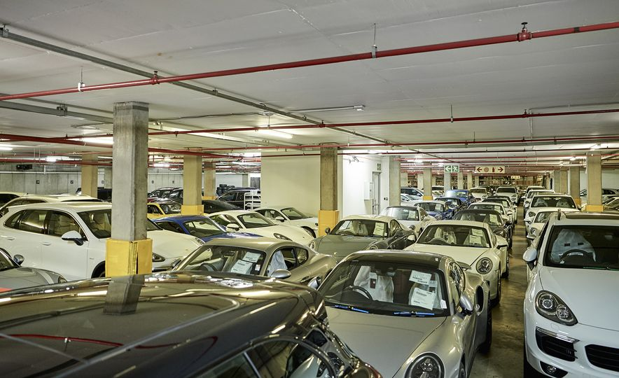 This Is the Largest Porsche Dealership in the World - Slide 7