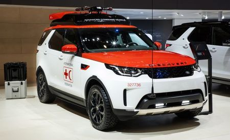 This Special Land Rover Discovery Is a Mobile Drone Dock for Disaster Relief
