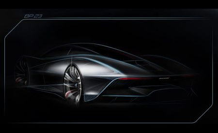 """See the First Teaser Image for McLaren's """"Hyper GT,"""" But Forget about Buying One"""