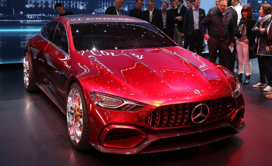 Mercedes-AMG GT concept - Slide 10
