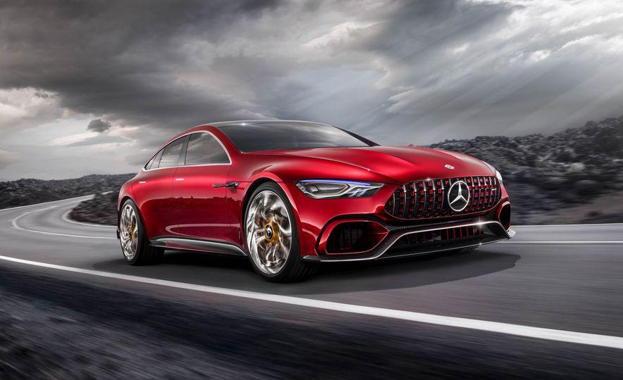 Mercedes-AMG GT concept - Slide 17