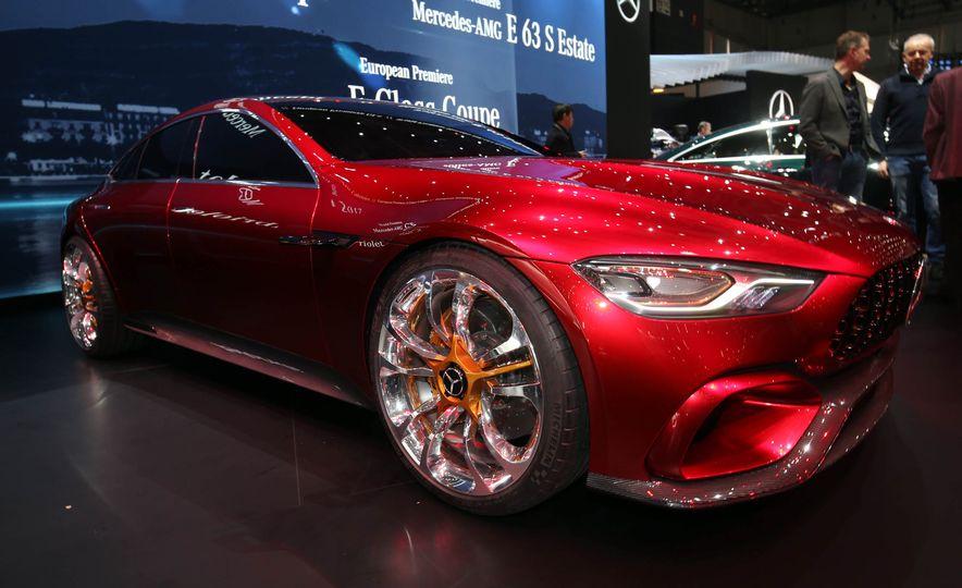 Mercedes-AMG GT concept - Slide 11