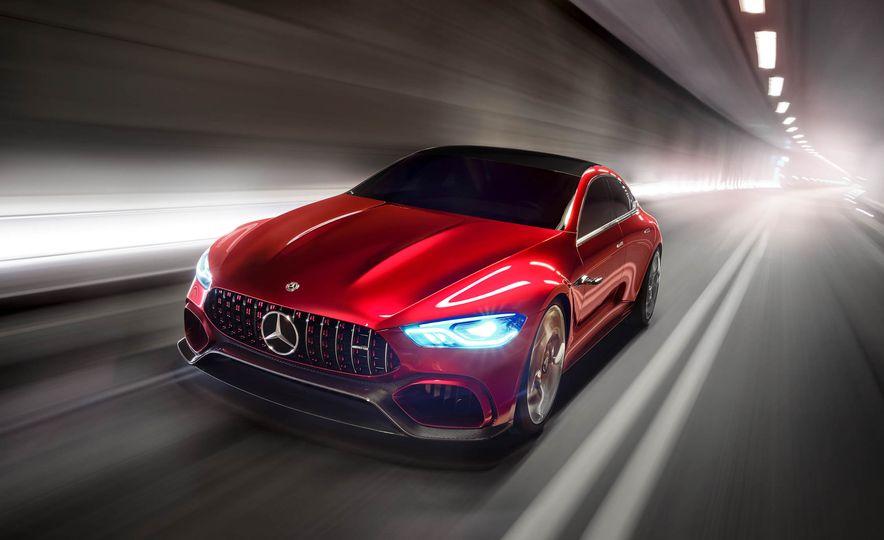 Mercedes-AMG GT concept - Slide 20
