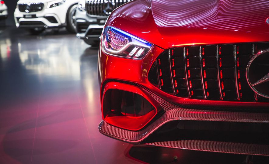 Mercedes-AMG GT concept - Slide 6