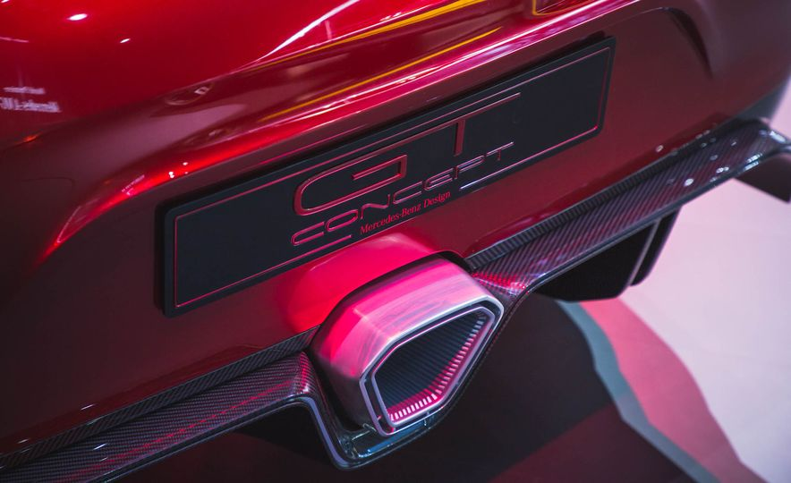 Mercedes-AMG GT concept - Slide 9