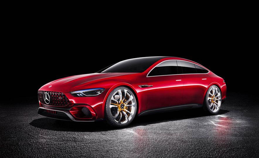 Mercedes-AMG GT concept - Slide 25