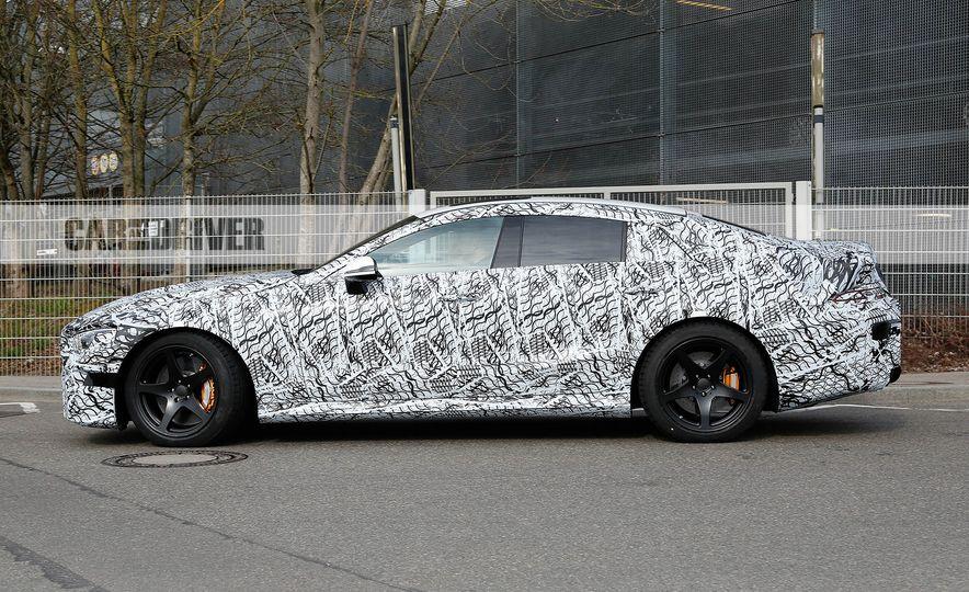 2019 Mercedes-AMG GT four-door (spy photo) - Slide 7