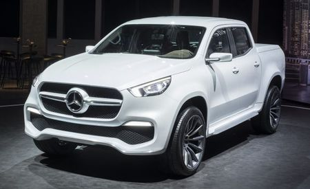 Mercedes Won't Offer Its X-class Mid-Size Pickup in America