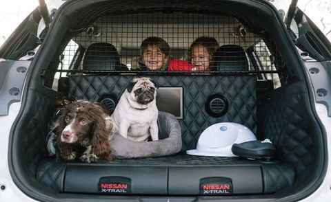 Nissan X-Trail 4Dogs Is the Ultimate Canine Contraption