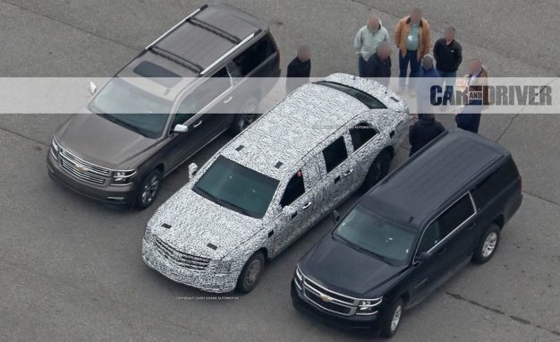 What We Know About the New Presidential Cadillac: It\'s Yuge   News ...