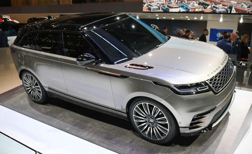 2018 Land Rover Range Rover Velar - Slide 11