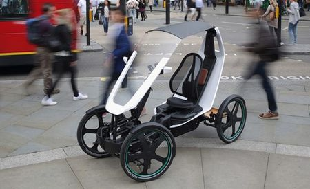 Schaeffler Bio-Hybrid: Drive in the Bike Lane, Legally!