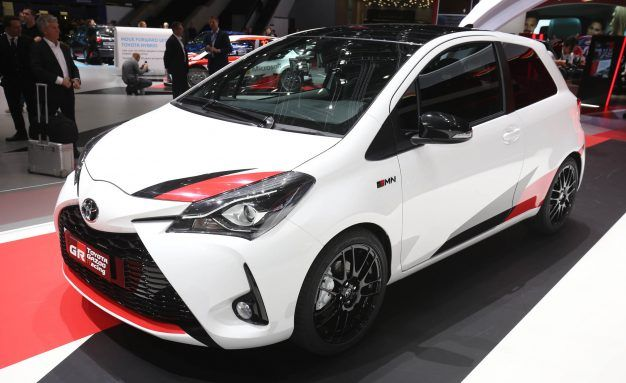 Toyota Previews High-Performance Yaris: It's a (Much More Powerful) Car!