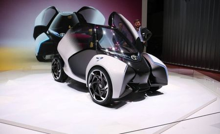 Little Helper: Toyota's i-TRIL Concept Is an Urban Kid Hauler
