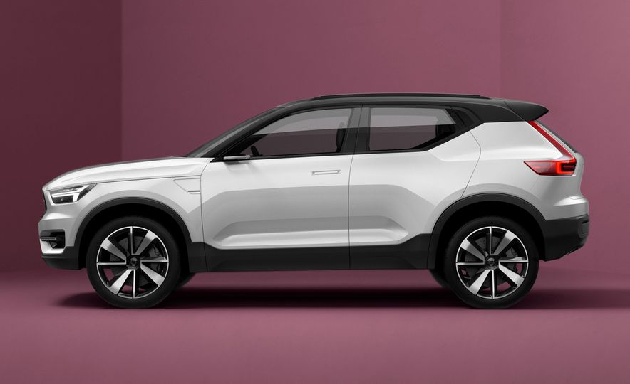 Volvo 40.1 concept - Slide 1