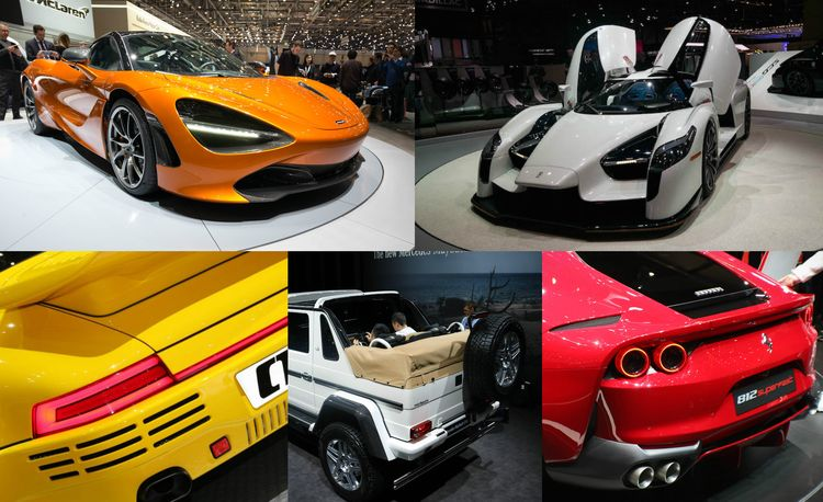 Fortress of Supertude: The Most Insane Supercars at the 2017 Geneva Auto Show