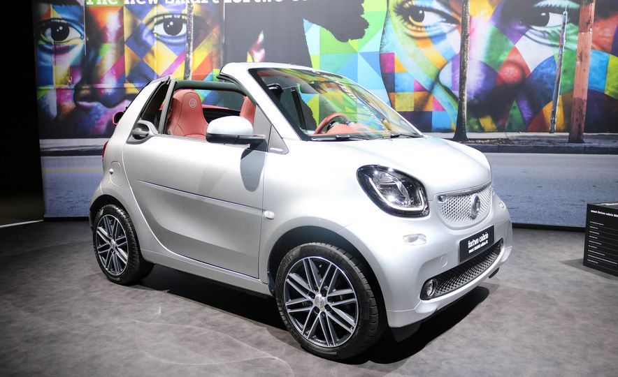 2017 Smart Fortwo cabriolet Brabus Edition #2 - Slide 3
