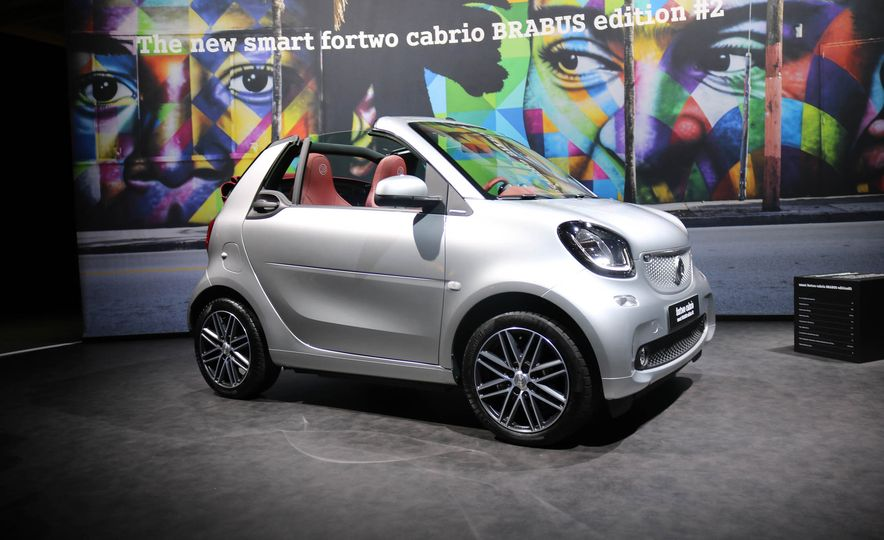 2017 Smart Fortwo cabriolet Brabus Edition #2 - Slide 4