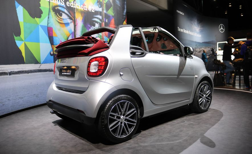 2017 Smart Fortwo cabriolet Brabus Edition #2 - Slide 5