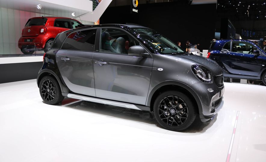 2017 Smart Fortwo cabriolet Brabus Edition #2 - Slide 9