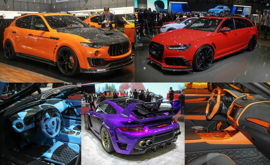 Wildest Tuner Cars of the 2017 Geneva Auto Show - Slide 1