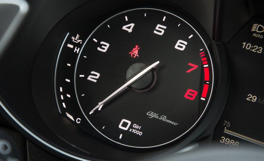 The 505-HP 2017 Alfa Romeo Giulia Quadrifoglio's Hotness, Visually Explained - Slide 15