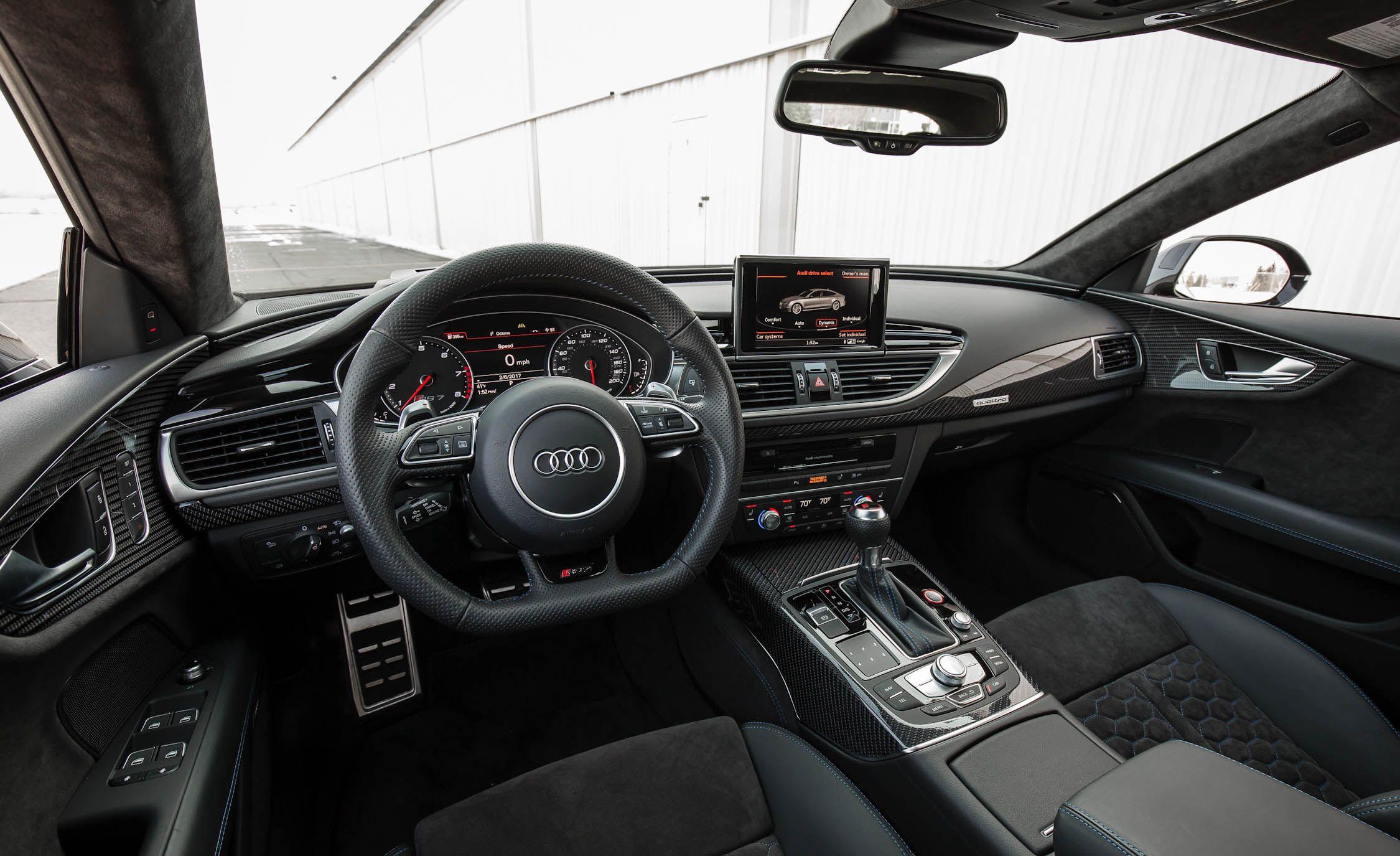 Audi Rs7 Interior 2017
