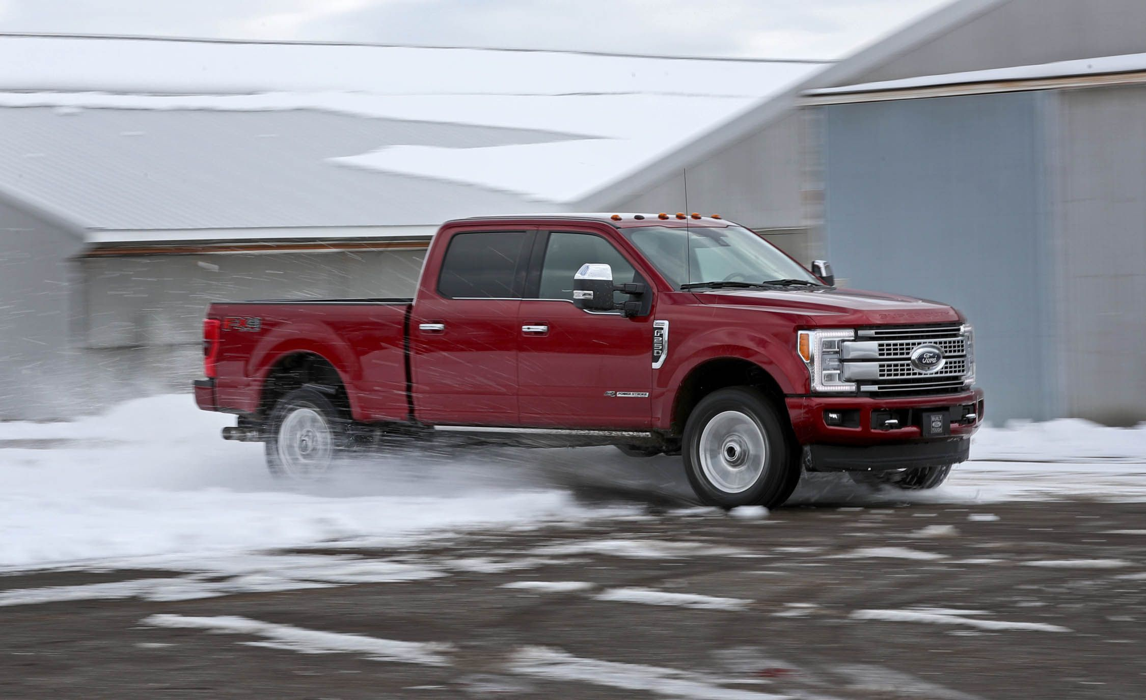 2017 Ford F 250 Super Duty Diesel 4x4 Crew Cab Test Review