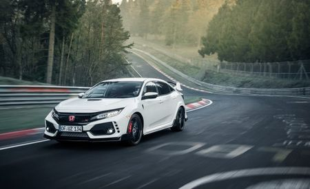 2017 Honda Civic Type R Sets FWD Nurburgring Lap Record [Video]