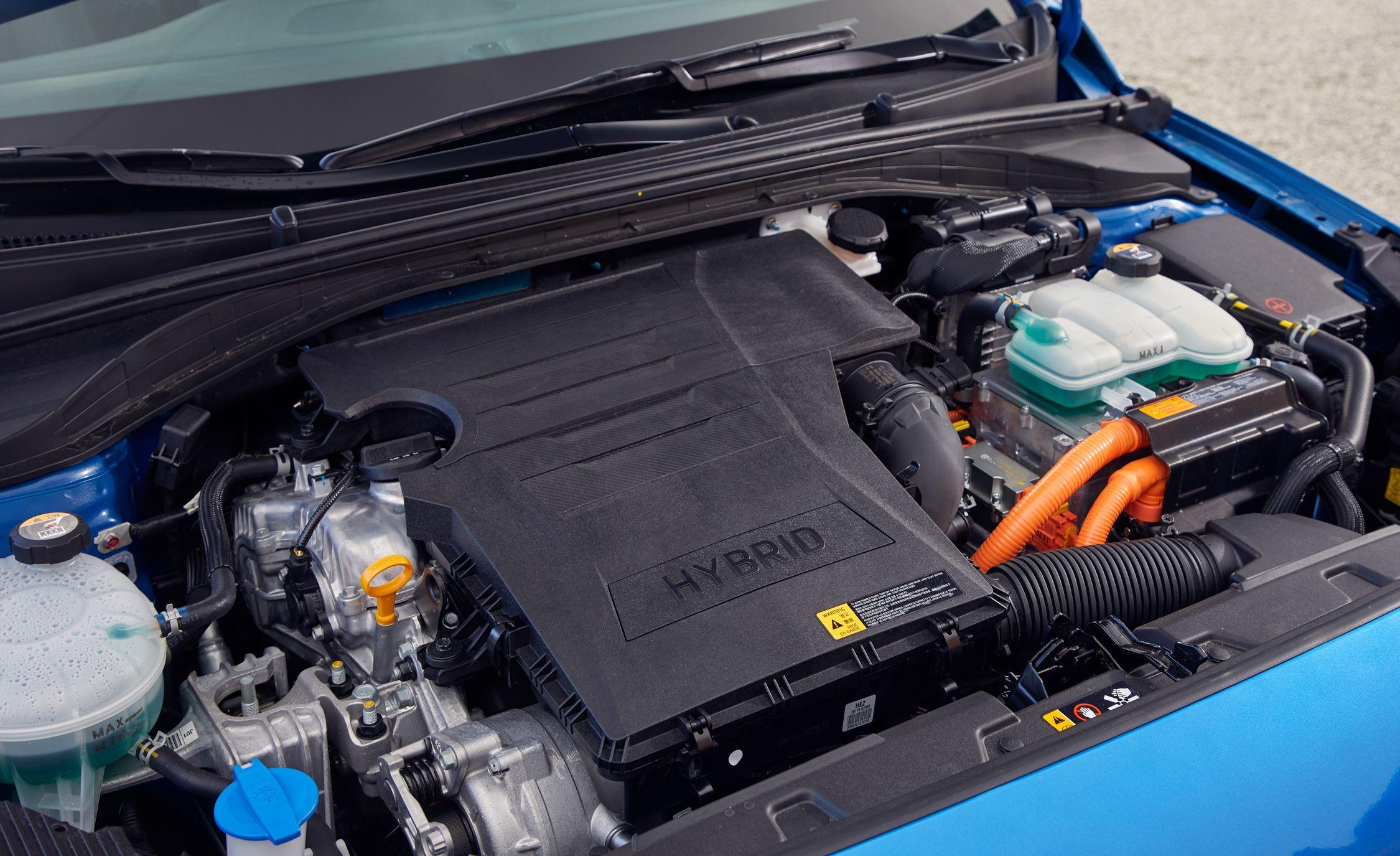 Hyundai Eliminates Traditional Battery In Ioniq Hybrid News Car Jump Start Diagram And Driver