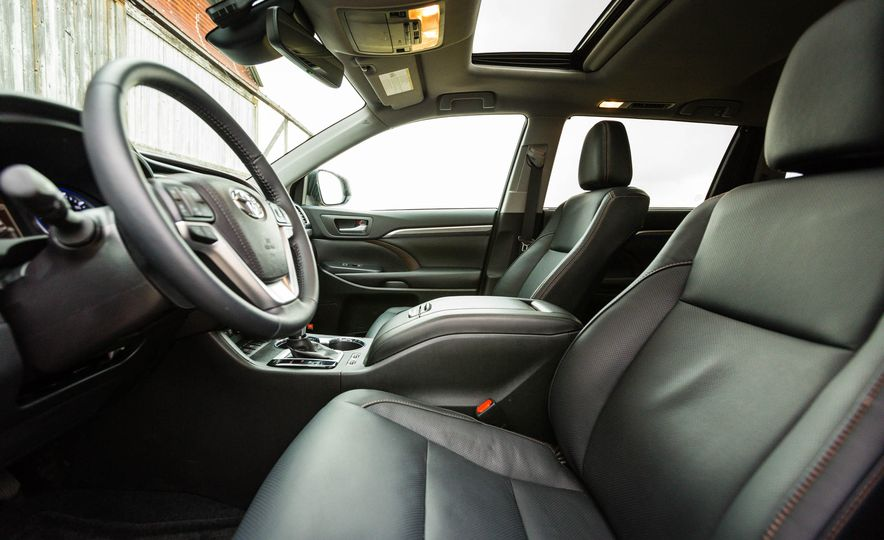 2017 Toyota Highlander hybrid - Slide 45