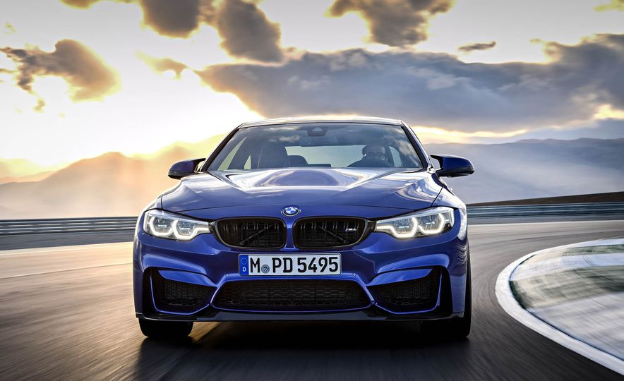 2018 BMW M4 CS - Slide 1