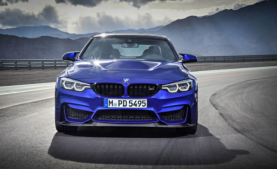 2018 BMW M4 CS - Slide 17