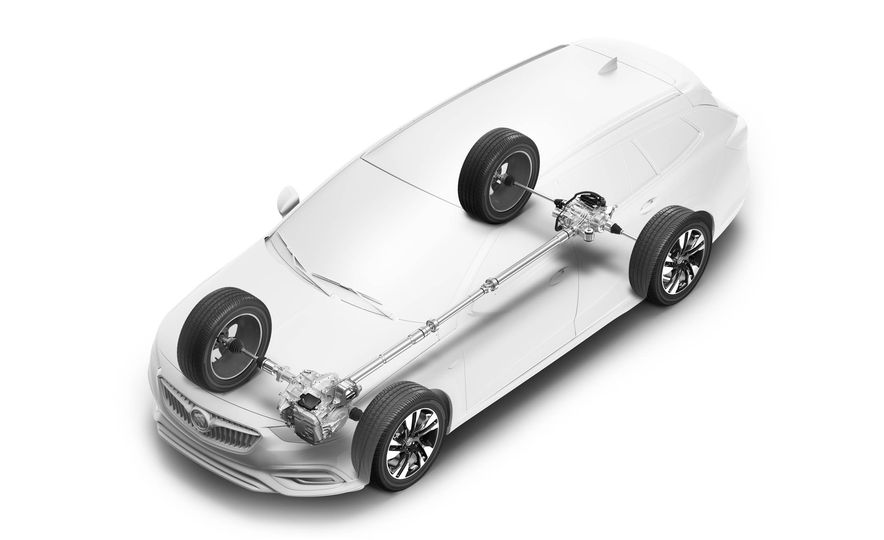 2018 Buick Regal TourX - Slide 40