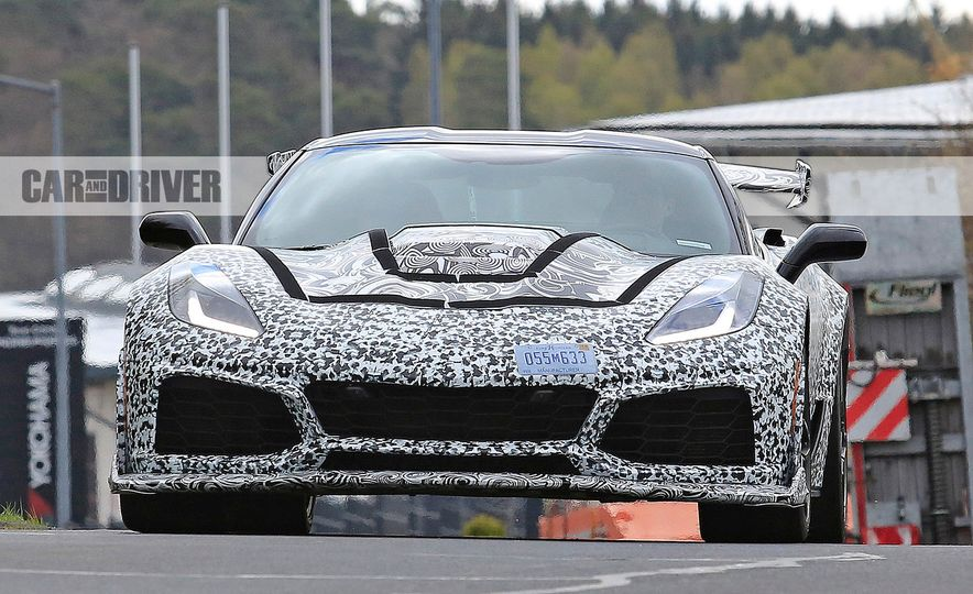 2018 Chevrolet Corvette ZR1 (spy photo) - Slide 1