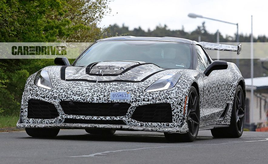 2018 Chevrolet Corvette ZR1 (spy photo) - Slide 11