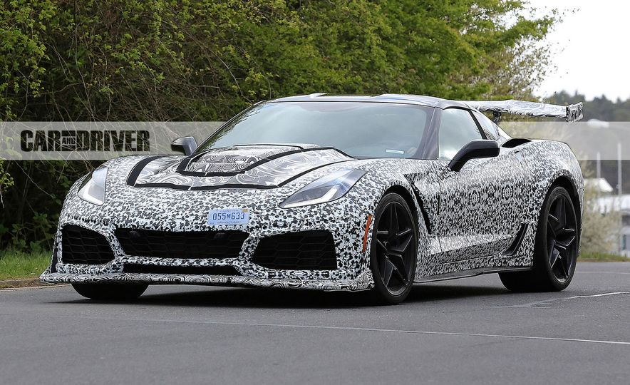 2018 Chevrolet Corvette ZR1 (spy photo) - Slide 12