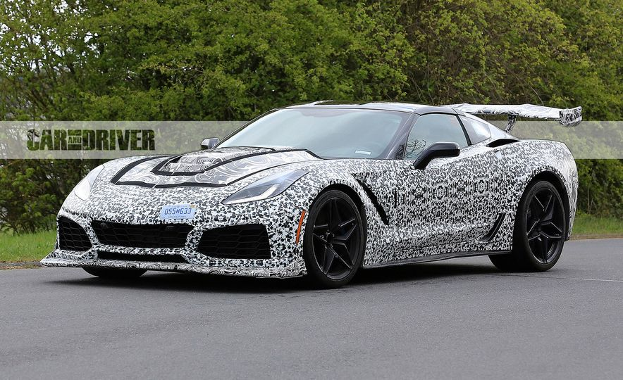 2018 Chevrolet Corvette ZR1 (spy photo) - Slide 13