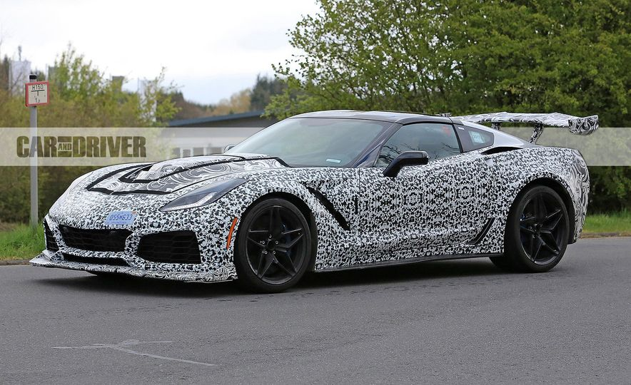 2018 Chevrolet Corvette ZR1 (spy photo) - Slide 14