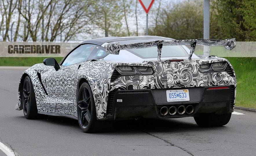 2018 Chevrolet Corvette ZR1 (spy photo) - Slide 18