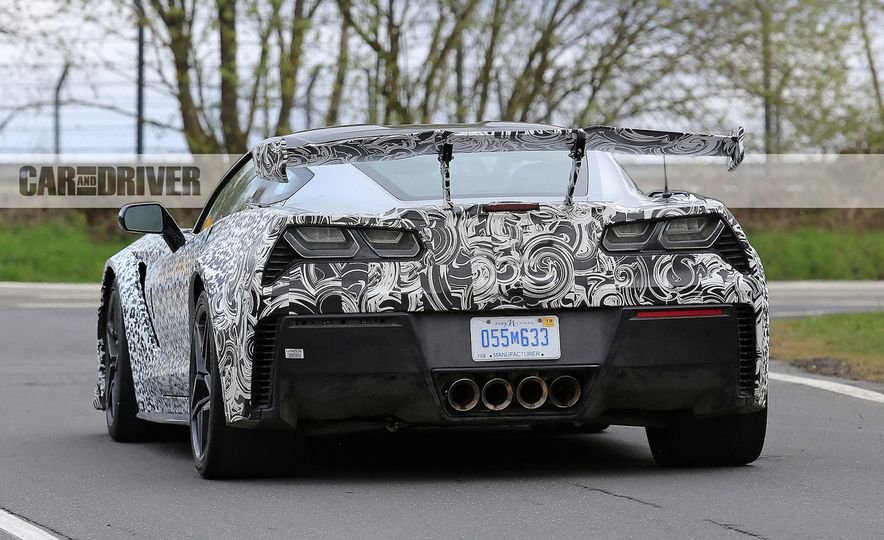 2018 Chevrolet Corvette ZR1 (spy photo) - Slide 19