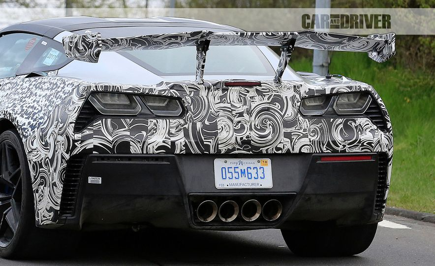 2018 Chevrolet Corvette ZR1 (spy photo) - Slide 20