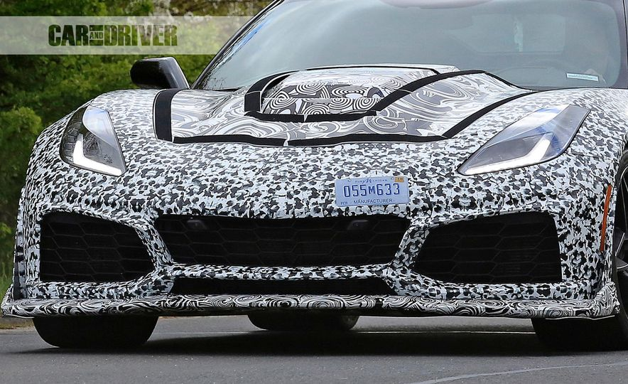2018 Chevrolet Corvette ZR1 (spy photo) - Slide 22